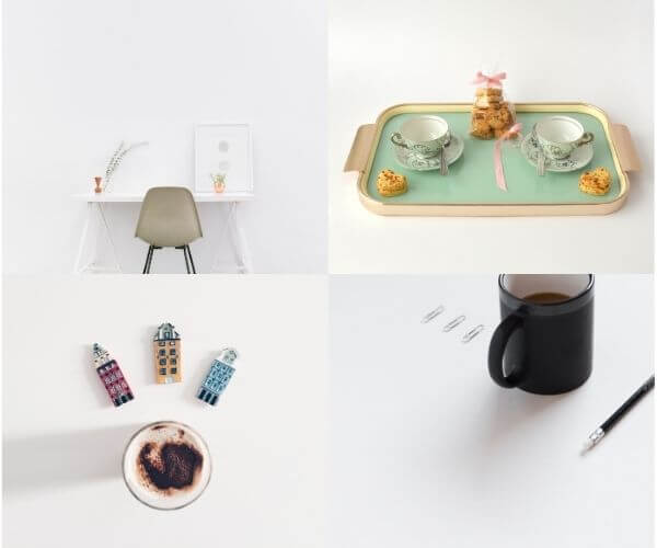 食卓、食器などの写真